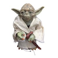 Wholesale Hot Seller Star War Action Figures Toys Jedi Knight Master Yoda Doll Plastic PVC Toy Gifts For Kids