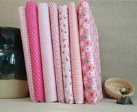 bedding group - Professional pink DIY craft to cm cm cotton cloth group small broken flower cloth fabric