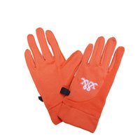 Wholesale Outdoors anti slippery windproof winter running gloves men women sport football player cycling cold weather fleece thermal glove