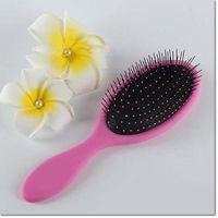 Wholesale Most Popular Massage Hair Brush Hairbrush Paddle Brush plastic Comb Makeup Tangle Styling Tools