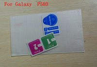 Wholesale Tempered Glass Protector Film For Galaxy P580 T580 T280 Tablet PC With Dust Absorb Wipe