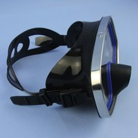 Wholesale wimming Diving Diving Masks Snorkeling Scuba Diving Mask Glasses Underwater Hunting Full Face Mask Goggles with Tempered Glass Lens for S