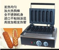 Wholesale Electric Lolly Hot dog waffle maker lolly waffle machine waffle sticks