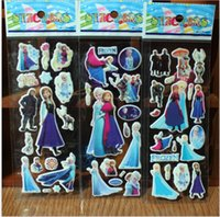 Wholesale Elsa Frozen Wall Stickers Olaf Decoration Princess Decorative Wall Decall for Kids Rooms Poster Switch Stickers Pape Art
