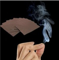 Wholesale 5Pcs New Adorable Finger Smoke Magic Trick Magic Illusion Stage Close Up Stand Up
