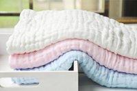 Wholesale Ran Beibei six layers of gauze towels baby bath towel baby blanket blanket baby blanket