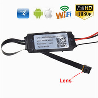 Wholesale 1080P P2P Wifi Spy Camera DIY Mini Wifi Module Hidden Camera Motion Activated Video Recorder DV Camcorder for IOS Android APP Remote View