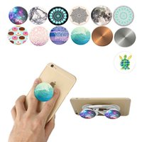 Wholesale POP Socket Finger Holder cellphone holder case with Anti fall Phone Smartphone Desk stand Grip popsockets combo Socket popsocket