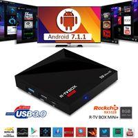 8GB arrival uk - Rockchip RK3328 Android TV Box bit Quad Core Android OS New arrival R TV Box Mini KODI Smart Real K Media Player