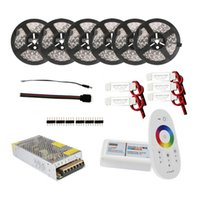 amplifiers decorations - 30m m m LED Strip Light RGB RGBW Lights DC V Waterproof IP65 Flexible Strips Remote Controller Power Adapter Amplifier