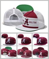 alabama mix - All Teams NCAA Alabama Crimson Tide Snapbacks Hats American College Football Mens Adjustable Hats Embroidered Logos Mix Order Free