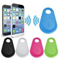 Wholesale Mini Smart Bluetooth GPS Locator Tag Alarm Tracker Kid Pet Car Finder Tracer Phone anti lost key finder children Pets B1