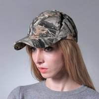 Wholesale Outdoor Hat Cotton buckram Baseball Cap Hat camouflage peaked cap fishing cap