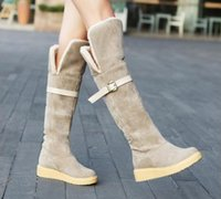 Flat Over Knee Snow Boots Price Comparison | Buy Cheapest Flat ...