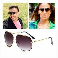 achat en gros de gafas aviator-Brand Designer 2017 Nouvelle Mode Dita Talon Gradient Aviator lunettes de soleil en alliage Frame Femmes lunettes de soleil Vintage Classique Oculos De Sol Gafas
