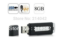 Wholesale High Quality K bps in Mini GB USB Digital Audio Voice Recorder Dictaphone Flash Drive Disk WAV Format