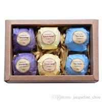 Wholesale Art Naturals Bath Bombs Gift Set Ultra Lush Essential Oil Handmade Spa Bomb Bath Salts for body