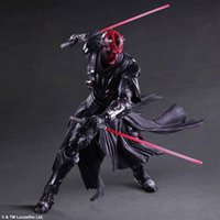 Wholesale Star Wars Play Arts Kai Darth Maul cm PVC Action Figure Collection Toy Doll marvel movie anime figure action model toys A
