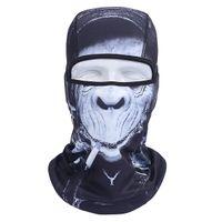 Wholesale New D Animal Active Outdoor Sports Bicycle Skull Bike Motorcycle Helmet Neck Face Mask Ski Sport Headband