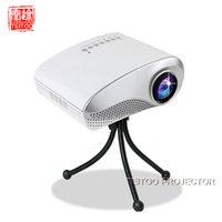 av stores - White Multimedia Home Cinema Mini LED Projector Support HDMI USB SD AV TV Portable Cheap Projection Screen in Store for Sale