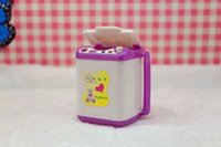 baby wash machine - One Doll Accessories Display Furniture Washing Machine Water dispenser For Barbie Dolls For Monster High dolls Baby Toys Gift