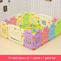 Wholesale Children s play to protect the safety fence bear models and other models within the store generic a game door a game bar fence