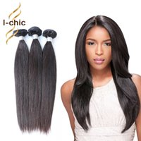 Dropshipping best quality virgin hair extensions uk free uk 7a unprocessed brazilian virgin hair straight human hair extensions 3pcs lot natural black best quality brazilian human hair weave dropshipping uk pmusecretfo Image collections