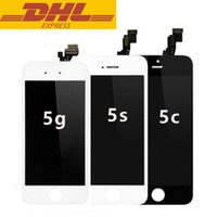 assembly line - 50pcs Iphone g c s LCD Display Screen With Touch Screen Digitizer Replacement Parts Assembly No Dead Pixels Lines In Stock