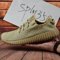 Cheap Adidas Original Yeezy Boost 350 Pirate Black Oxford Tan 2017 New Kanye Milan West Yeezy Boost 350 Running Shoes SIZE: US 5-11.5 With Box