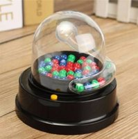 Wholesale Electric Lucky Number Picking Machine Mini Lottery Bingo Games Shake Lucky Ball for family fun activities among friends