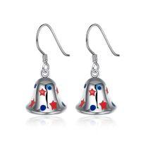 bell earings - Jingle bells Christmas pendant earings for women kids Child style Christmas gift e833