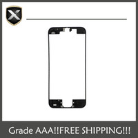 Wholesale Grade A LCD Holder Middle Bezel Digitizer LCD Frame With Hot Glue For iPhone G S C