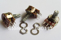 Wholesale WH148 B1K K OHM Linear Taper Rotary Potentiometer MM