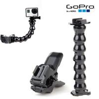 Wholesale Hot Gopro Hero sj4000 Camera Accessories Jaws Flex Clamp Mount Adjustable Neck