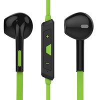 Wholesale New Original Wireless Headset Bluetooth stereo Ear Phone Headset earphone Sport Bluetooth earphone for iPhone Samsung