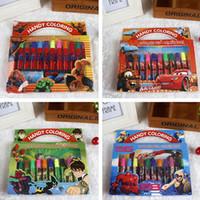 Wholesale Frozen Poke Suits Watercolor Pen P Colouring Pictures P Color Stickers Set Kids Gift Presents Children Puzzle Painting
