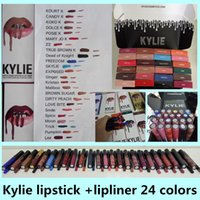 best peach lipstick - Best kylie kit Lipstick KYLIE JENNER LIP KIT Matte Lipstick BROWN SUGAR DIRTY PEACH LOVE BITE smile pumpkin spice moon trick