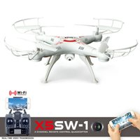 Wholesale X5SW WIFI RC Drone With Camera FPV Quadcopter With Camera G RC Helicopter Axis Drone Professional VS JJRC H31 JJRC H20
