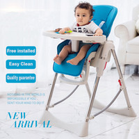 Wholesale Teknum baby dining chair multifunctional folding portable child baby dining table chair