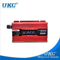 Wholesale 500W Car Power Inverter Converter Charger Car DC12V to AC v V Converter USB Cigarette Lighter