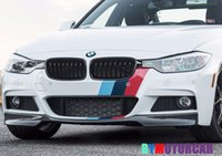 Wholesale V Style Real Carbon Fiber Front Spoiler F30 Series Fit For BMW