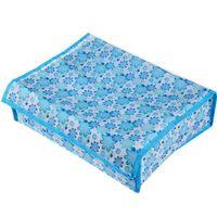 Wholesale 20 Grids Flower Pattern Foldable Underwear Socks Tie Closet Organizer Storage Box