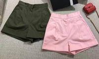 Wholesale 2017 spring women shorts pink green