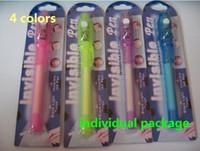 Wholesale in INK Pens Invisible UV Pen secret message pen colors mixed