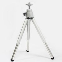 Wholesale Mini Degree Rotatable Tripod Adjustable Portable Tripod For Gopro Selfie iPhone Phones Camera Video Projector DV Camcorders