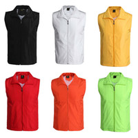 Wholesale new arrival men slim fit vest fashion Stitching casual waistcoat autumn winter women dress vests colors M XL