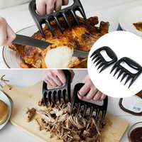 Wholesale Bear Paws Claws Meat Handler Fork Tongs Pull Shred Pork BBQ Barbecue Tool Forks Food Picks Bento Accessories