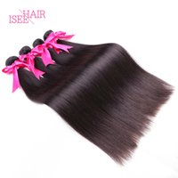 Natural Color best quality hair extensions - Best Quality Straight Peruvian Hair Weave Premium Peruvian Virgin Hair Pieces A Human Hair Weft Extensions Bundles Tissage Bresilienne