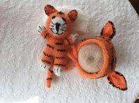 baby shower pencils - Handmade Crochet Fox Stuffy Newborn Bonnet Set Photo Prop Amigurumi Stuffy Fox Toy Vintage Style Perfect Baby Shower Gift Mohair