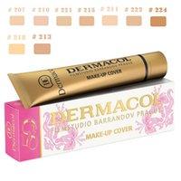 Wholesale Dermacol Concealer Base Makeup Cover Primer Face Concealer Foundation Contour Dermacol Make up Foundation Cream Colors